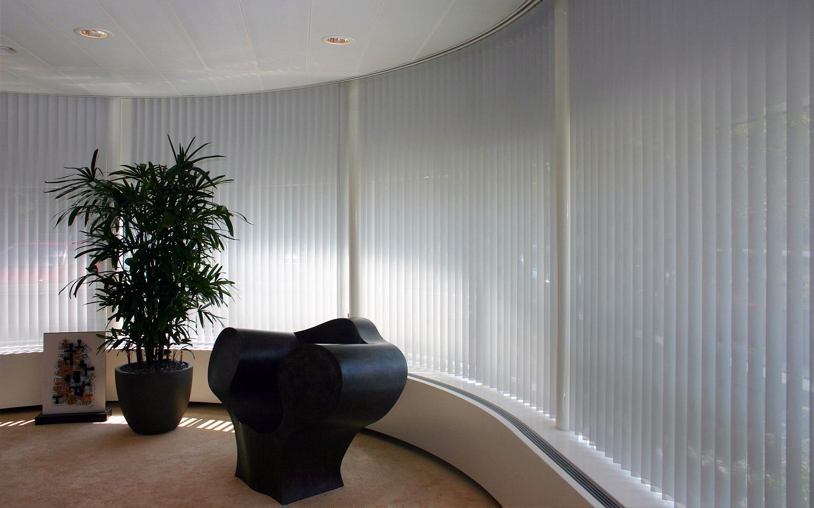 Lamelgordijen kantoor 1